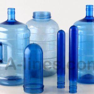 Butylka-19-litrov-banka-preforma-tara-vyduv-poluavtomat-5-i-11-litrovyye
